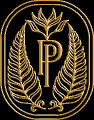 Plume & Petal Crest Gold